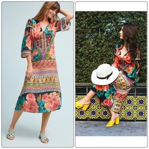 Anthropologie Rosario Dress